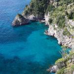 Campania, Provincia di Salerno, Costiera Amalfitana, Amalfi - arco naturale di Santa Croce